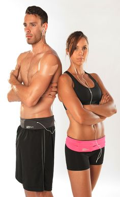 Holds your phone, cards, keys, and more while you workout, go running, or do yoga!   FlipBelt