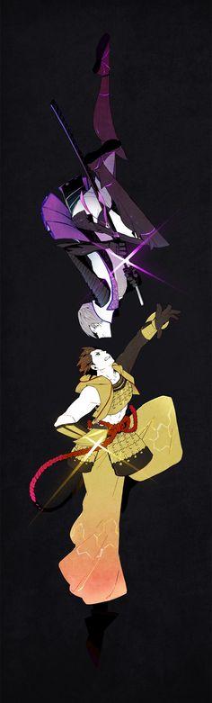 Mitsunari // Ieyasu