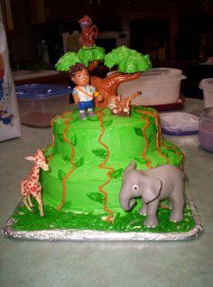 Diego Birthday Cake.