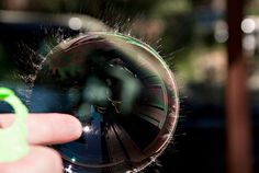 Popping bubble by TomFalconer, via Flickr