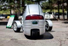 Startup automaker Elio Motors to produce three-wheel car in former GM facility Elio Motors, Trike Motorcycle, Bike, Reverse Trike, Third Wheel, Chevy Chevelle, Toyota Cars, Car Wheels, Car Photos