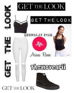 """""""Theylovearii inspired"""" by perfectjackbgg ❤ liked on Polyvore featuring Charlotte Russe, Topshop, Vans, GetTheLook, musical, TheyLoveArii and plus size clothing"""
