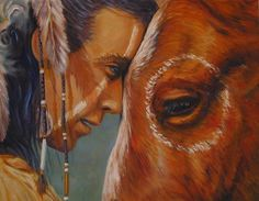 Indian & horse 1