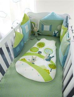 Мягкие бортики для детской кроватки. Идеи / Дети - это счастье!