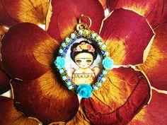 Frida Kahlo Accesorios  Diseños Mexicanos  Joyeria por ArteImMrAmA