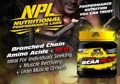 NPL's precise ratio of BCAAs with added L-Glutamine, will enhance… Lab, Muscle, Nutrition, Instagram Posts, Products, Muscles, Gadget, Labs