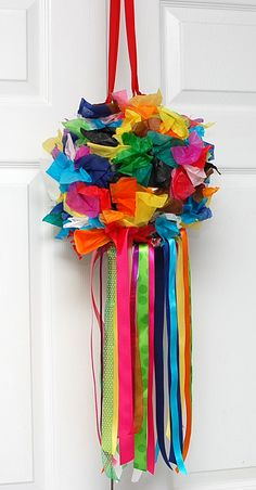 The Purple Pug: It all started with the pinata...A Very Colorful Christmas.