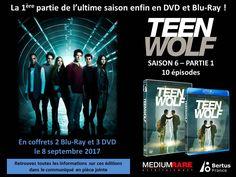 Nouveau concours: #TEENWOLF Saison 6 Partie 1 2 Coffrets Blu-Ray et 1 Coffret DVD à gagner https://leschroniquesdecliffhanger.com/2017/09/08/teen-wolf-saison-6-partie-1-concours-2-coffrets-blu-ray-et-1-coffret-dvd-a-gagner/