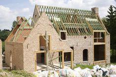 Build Your Own House, Tudor, Ramen, Building A House, Villa, Farmhouse, Cottage, Exterior, Autumn