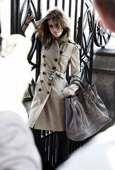 Image result for emma watson burberry ad
