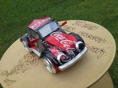 Aluminum Can Crafts, Aluminum Cans, Metal Crafts, Recycled Art Projects, Metal Art Projects, Diy Craft Projects, Coke Can Crafts, Beer Can Art, Mercedes S320