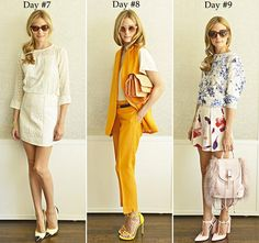 Olivia Palermo's Style Diary: 17 Summer Looks for 17 Days  #celebritystyle #oliviapalermo