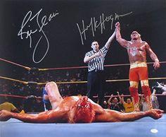Hulk Hogan & Ric Flair Dual-Signed WWF WWE Wrestling 20x24 Photo JSA ITP Sports Integrity http://www.amazon.com/dp/B00P1PW1HY/ref=cm_sw_r_pi_dp_GwTuub0MWFW75