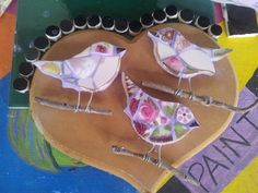 little birds, I saw some at market, and tried making my own.......I did buy 2 though, as I do appreciate others work :)