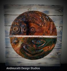 Irish Art, Celtic Symbols, Organic Form, Dublin Ireland, Abstract Wall Art, Shades Of Green, Metal Art, Metal Working, Concept