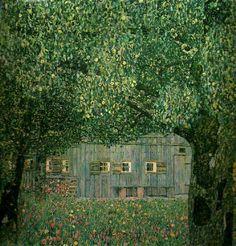 Fattoria nell'Austria Superiore by Gustav Klimt.