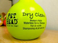 Waterless Shampoo by Pet Head. A MUST HAVE for between doggy bath times!