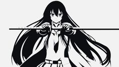 #anime #akame ga kill #sword #katana girl