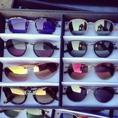 We can't decide which pair of chic @bartonperreira sunglasses we want most for summer! #Padgram