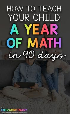 Teach Your Kids a Year of Math in 90 Days Counting Activities, Toddler Activities, Number Activities, Learning Through Play, Kids Learning, Teaching Math, Teaching Ideas, Teaching Resources, Kids Mental Health
