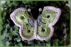vlinder met patroon