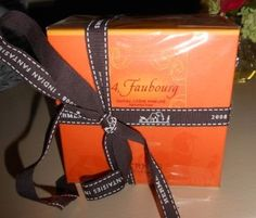 NEW Auth HERMES Paris Faubourg Perfumed Soap with Dish in Box | $37.50 on eBay