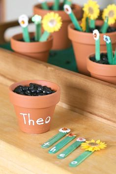 Learning the ABCs with an Alphabet Flower Garden Activity at Buggy and Buddy