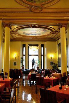 Cafe del Circulo de Bellas Artes, Madrid, Spain