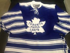 New Classic Jeresy of Toronto Maple leafs! Toronto Maple Leafs, Uni, Classic, Mens Tops, T Shirt, Winter, Fashion, Winter Time, Tee