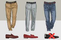 17 Shoe Charts Every Man Needs To Bookmark