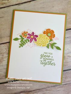 Grow Together Bouquet Card