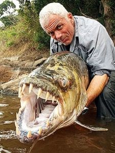 River Monsters - Nopefish: lives in the I'm-Never-Going-There River in the country of F*ckthatistan.