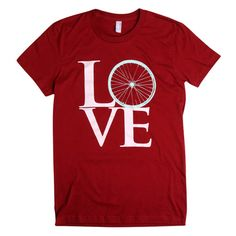 I need this for my new hobby with my dad! cute cycling tee!