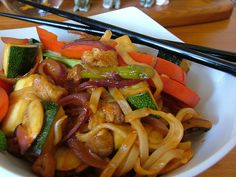 Vegan Phad Thai. Another fave I love to cook.