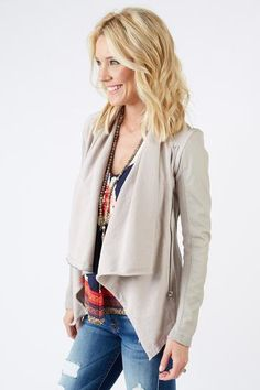 August RETURNED - BB Dakota jacket - looked better on the model than me - too drapey.