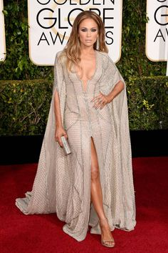 All of the chicest red carpet arrivals from the Golden Globes: Jennifer Lopez