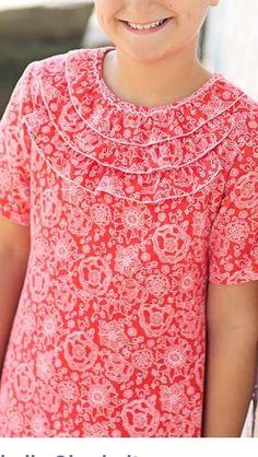 Girl's neckline idea