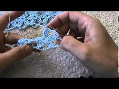 crochet lion's foot flower stitch - YouTube
