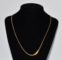 Fine Estate 14k Yellow Gold Chain Fashion 19 inches long Necklace