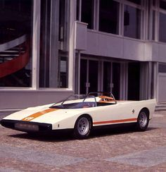 It's Speed Racer's Mach 5, but real  The Alfa Romeo P33 Cuneo (1971)