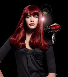 Ruby red Hair; achieve dazzling results in creating a natural look or even a…