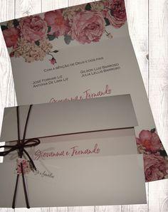 Convite Peônias – Setegra Convites Wedding Album, Wedding Tips, Wedding Cards, Neighbor Christmas Gifts, Quinceanera Invitations, Sweet 16 Parties, Diy Wedding Decorations, Wedding Invitation Design, Marry Me