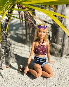 Barbie Doll House, Barbie Life, Barbie World, Barbie And Ken, Barbie Barbie, Juste Zoe, Black Bratz Doll, Barbie Stories, Barbie Summer