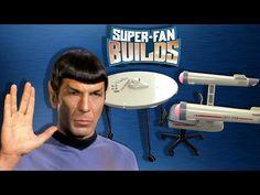 Star Trek Enterprise Home Office - SUPER FAN BUILDS - YouTube