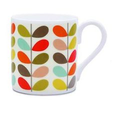 Home: Eleven Tea-Worthy eBay Mugs (Orla Kiely Multi Colour Stem Mug   eBay)