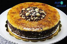 Tarta de whisky y yema Thermomix Ana Sevilla Custard Tart, Whisky, Acai Bowl, Yema, Cooking, Breakfast, Cake, Sweet, Desserts