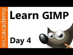 Learn Gimp Tutorial - Day 4 - Path Tool - YouTube