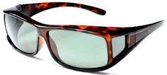Hilton Bay Polarized Over-Prescription Sunglasses P77 (Tortoise / Smoke) $26.95