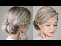 How To: Easy Messy Updo - YouTube