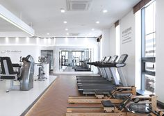 Club Design, Gym Design, Gym Interior, Interior Design, Food Court Design, No Equipment Workout, Fitness Equipment, Gym Center, Gym Room